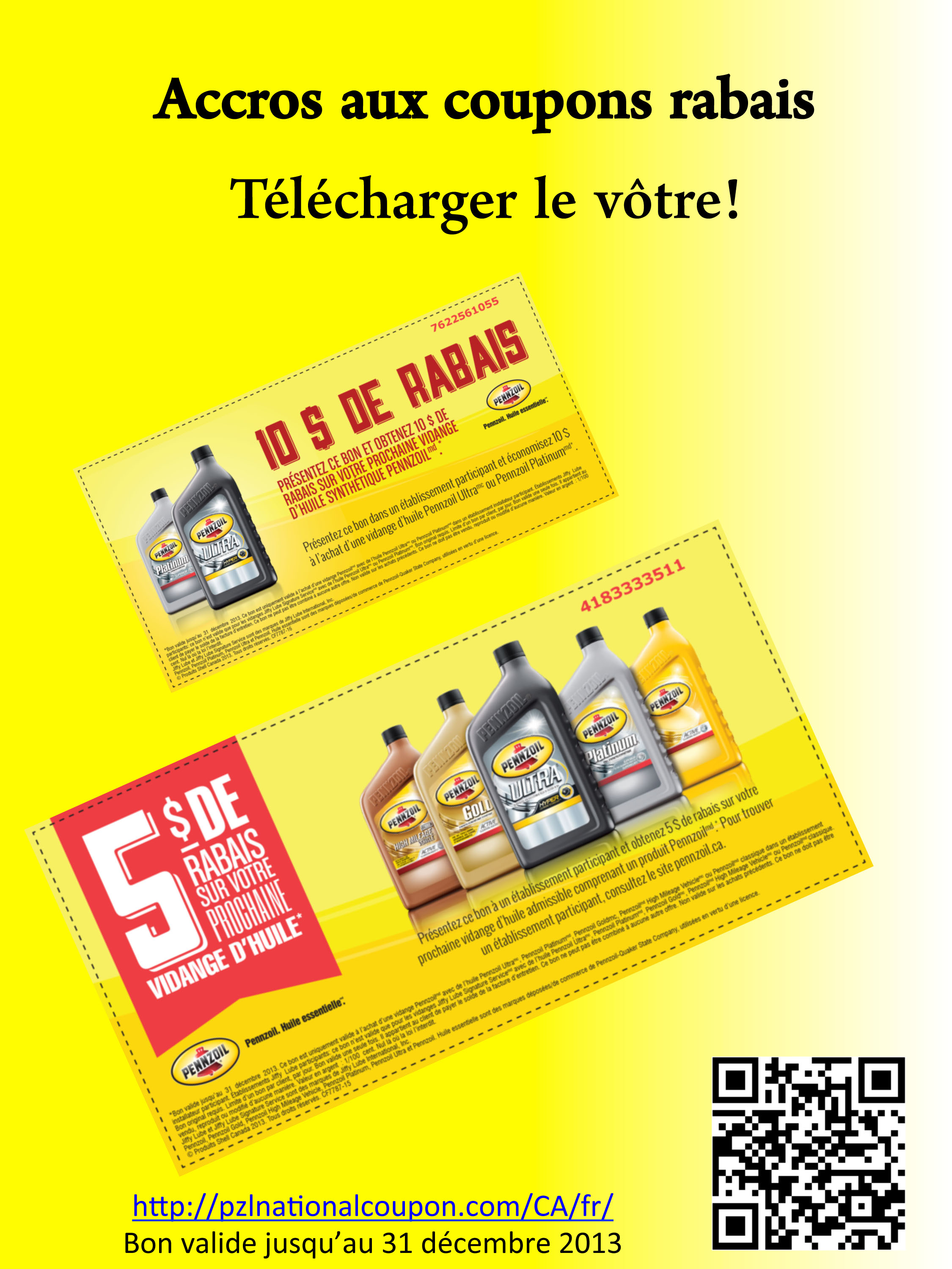 Pennzoil coupons 2019
