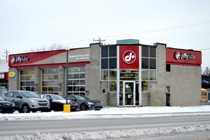Changement d'huile Jiffy lube St-Eustache