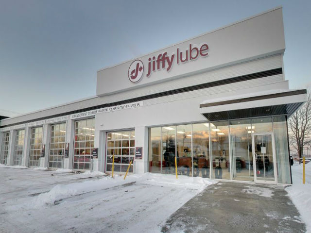 Changement d'huile Jiffy lube Mirabel